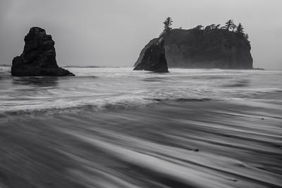 Gray Day at Ruby Beach
