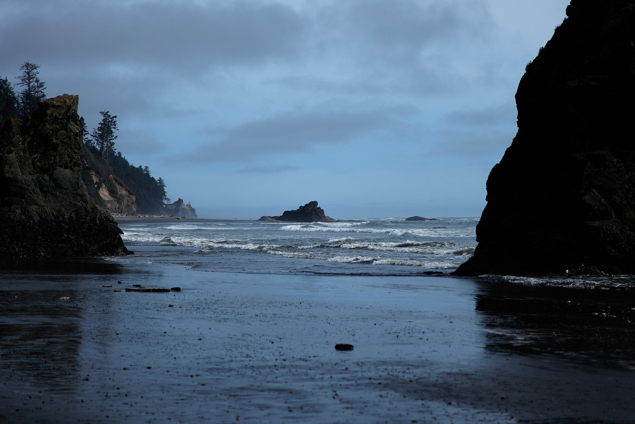 Ruby Beach, afternoon