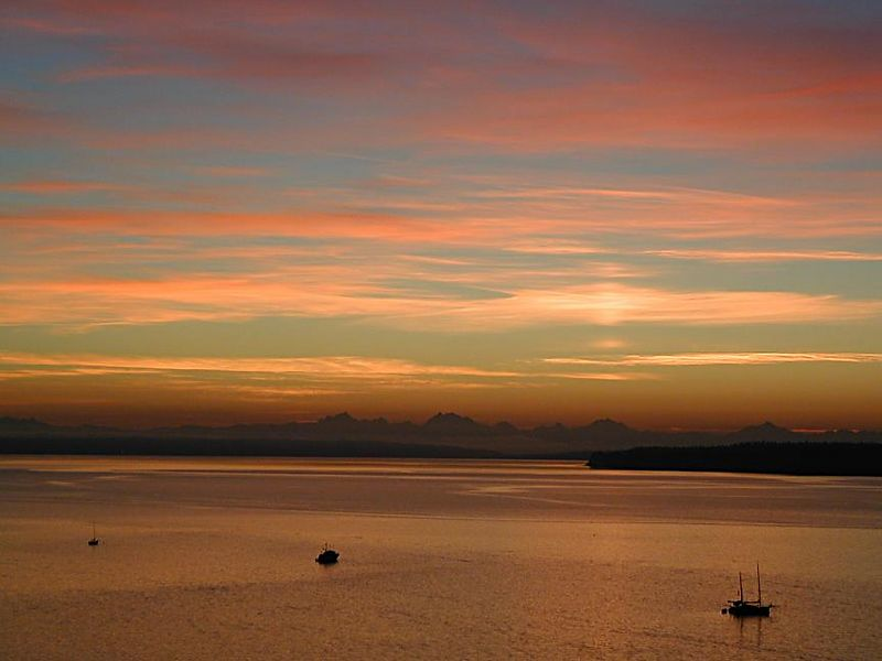 Cascade Sunrise, Port Townsend, Washington