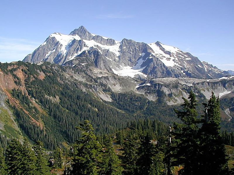 Mt. Shuksan, North Cascades, Washington