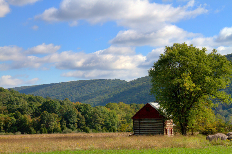 An Old Cabin Along The Backroads Of West Virginia 9-23-2012