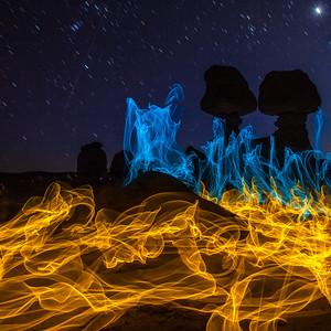magic fire in goblin vally utah 2