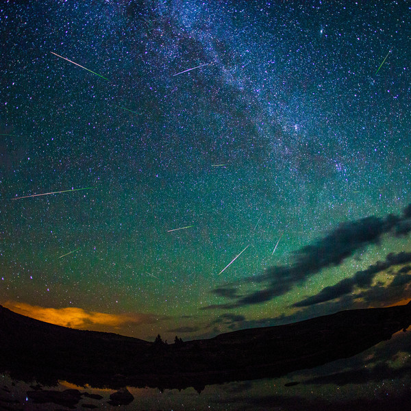Meteors Perseid Meteor Shower from Taylor Pass Colorado
