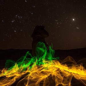 magic fire in goblin vally utah