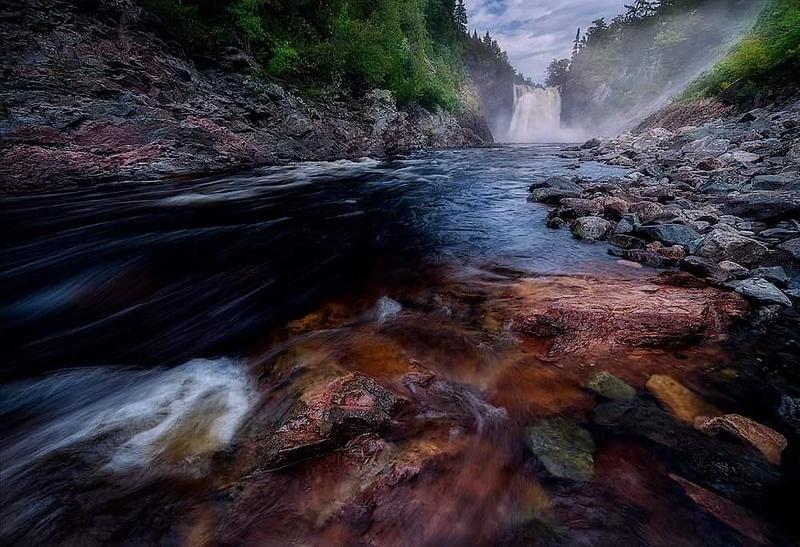 Agawa Falls, Lake Superior Provincial Park