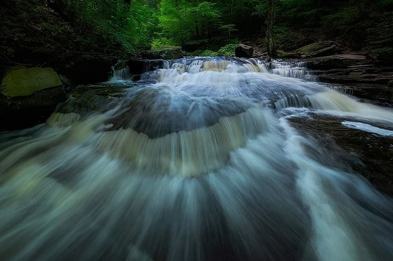 Ricketts Glen State Park, Pennsylvania;home page