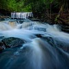 tuscarora, ricketts glen, pennsylvania, waterfalls, spring, long exposure, oneida