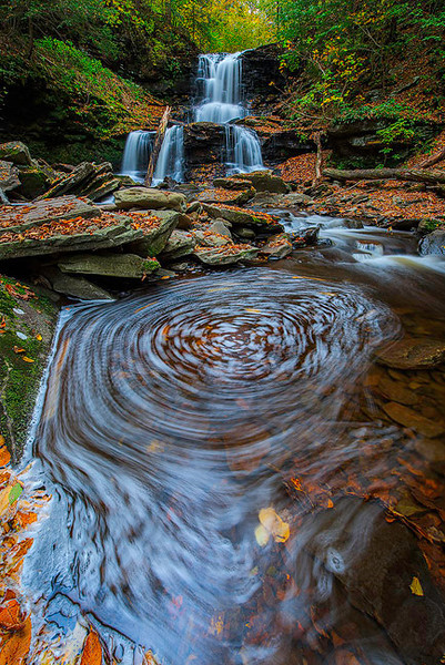 Tuscarora Falls<br /> Ricketts Glen State Park