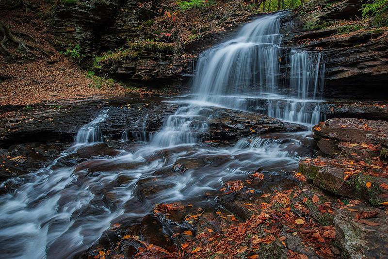 Onondaga Falls<br /> Ricketts Glen State Park
