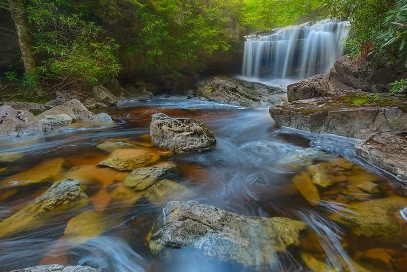 Big Run Falls, West Virginia