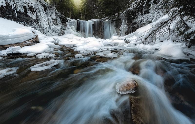Hoggs Falls, Flesherton, Ontario