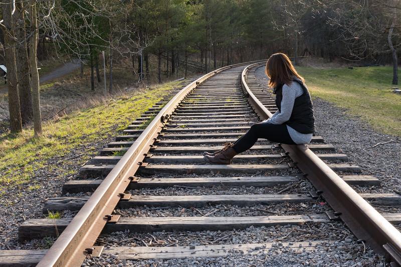Victoria On The Tracks