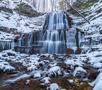 Winter at Sherman Falls