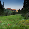 Albion Basin First Light