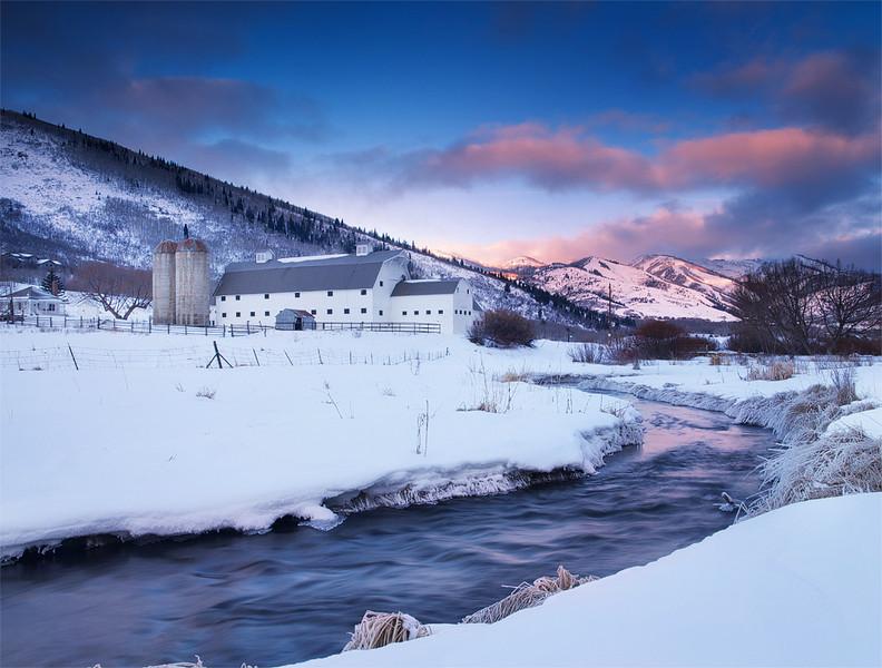 McPolin Barn Winter