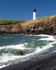 Yaquina Lighthouse & rock beach