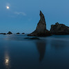 Witch's Hat, by moonlight, at Bandon