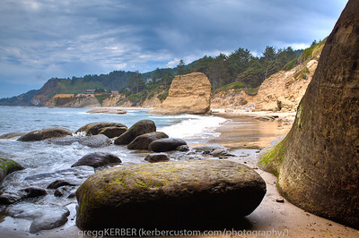 Inside the Devil's Punchbowl...Oregon Coast