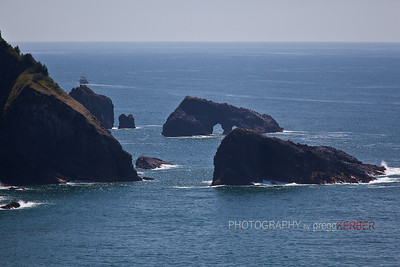 Sea rocks, Oregon Coast