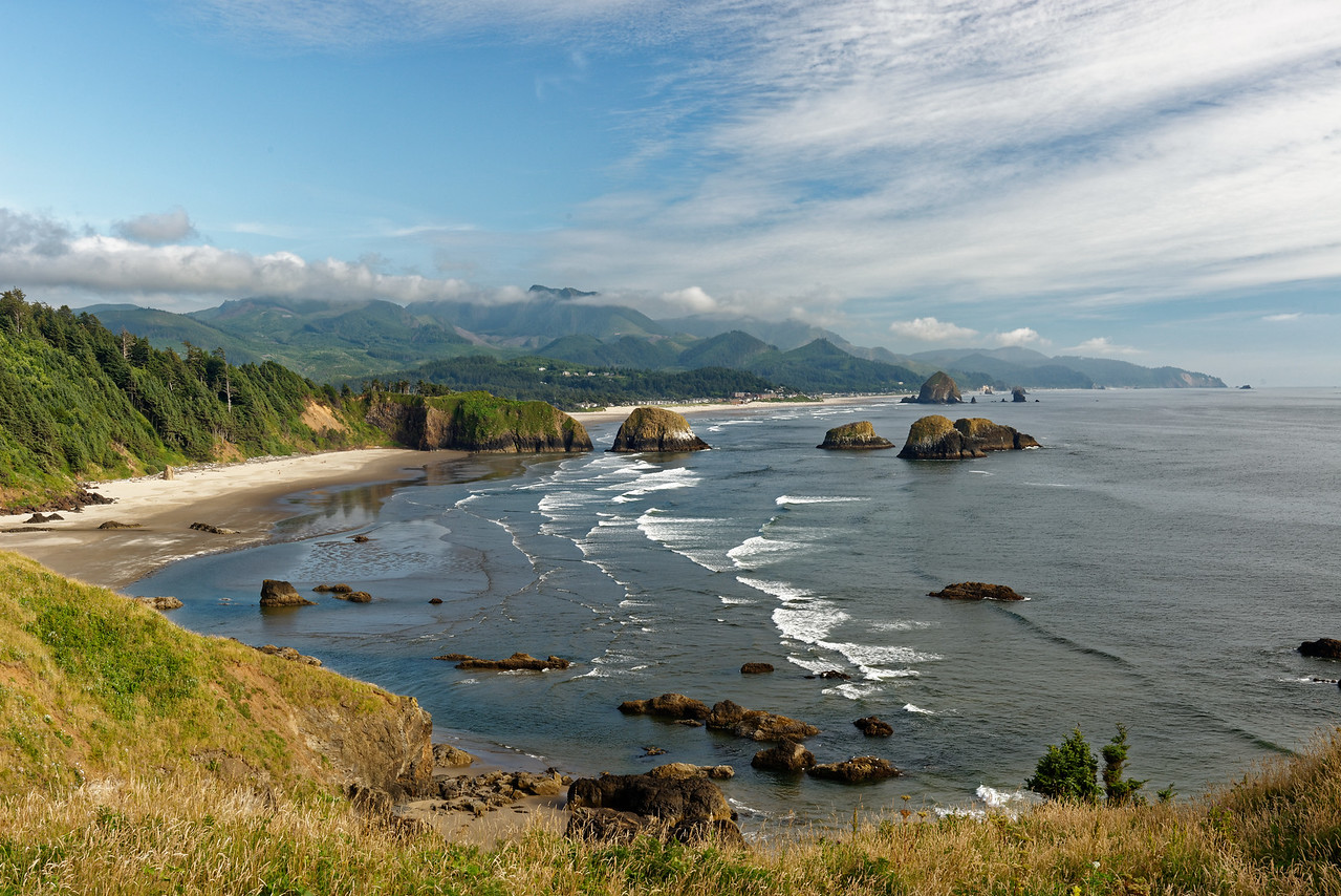 Outlook from Ecola State Park, Oregon Coast