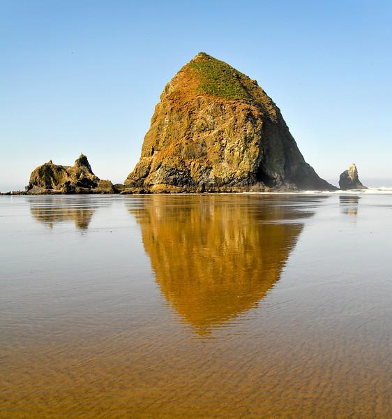 Oregon Coast Seascape, by Mike Reid.