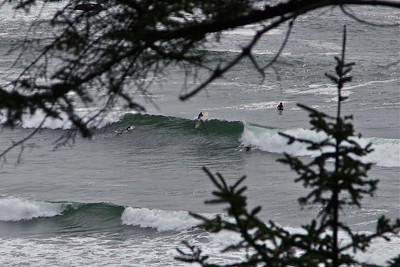 Short Sands beach in Oswald West St Park is the most popular surfing beach on the Oregon coast.
