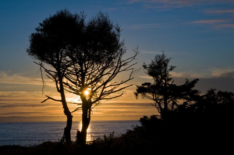 Sun Burst - Pyramid Point - Northern CA