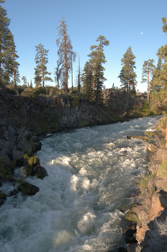 Deschutes River rapids