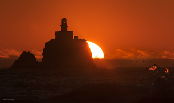 Tillamook Sunset