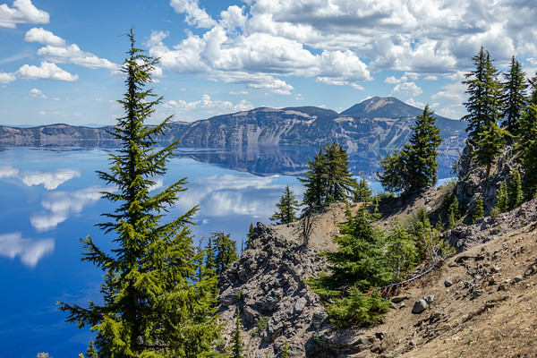 Dreamy Views of Crater Lake