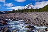 Oregon, Mount Hood, Stream, HDR, 俄勒冈, 胡山, 流水, 风景