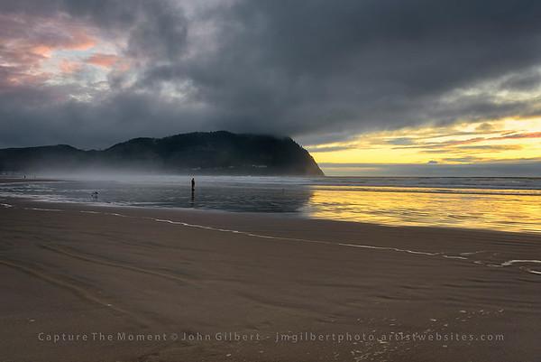 Seaside, Oregon Beach