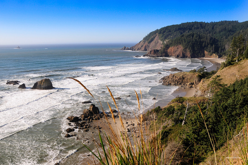 069 Ecola State Park North View