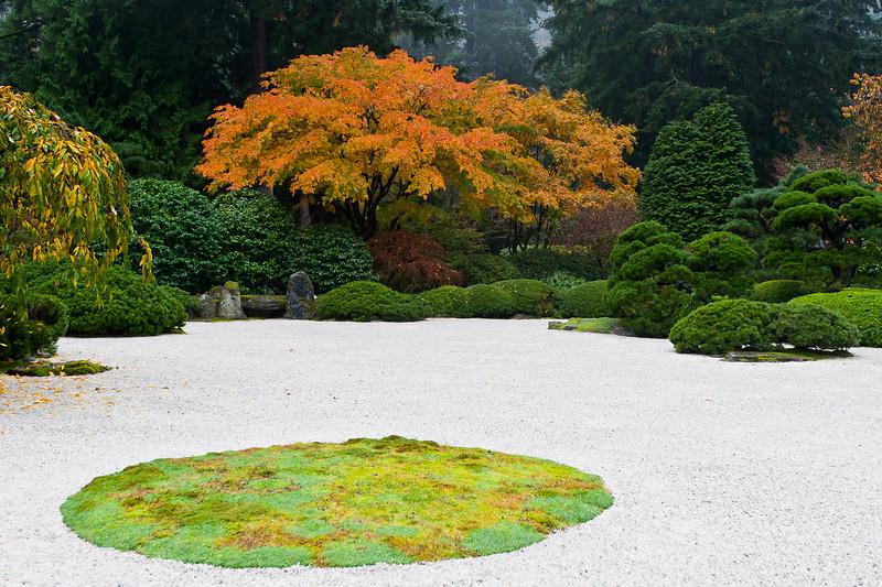 Japanese Garden in Washington Park, Portland