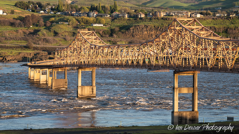The Dalles Bridge over the Columbia River