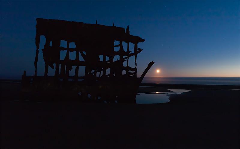 Peter Iredale shipwreck, Fort Stevens
