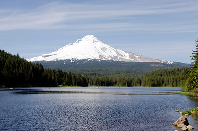 Mt. Hood from Trillum Lake