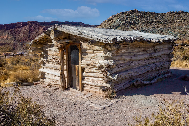Wolfe Ranch House - Built in 1905  Arches National Park, Utah