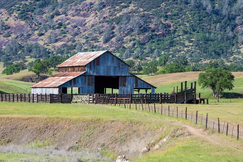 Barn North of Elk Creek, CA