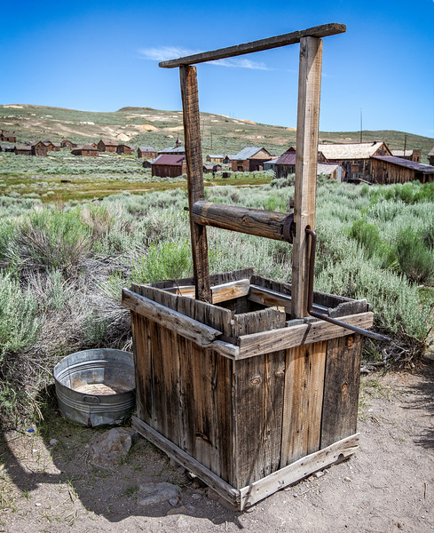 1870's Domestic Well - Bodie, CA