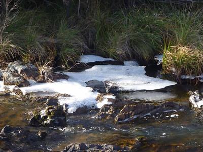 Orroral River ice