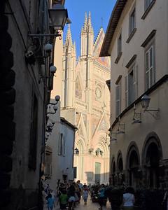 Light at Dark Near the Duomo, Orvieto
