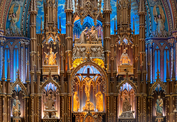 Notre Dame Basilica<br /> Montreal<br /> 2012