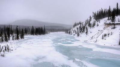 Saskatchewan Crossing from the Bridge