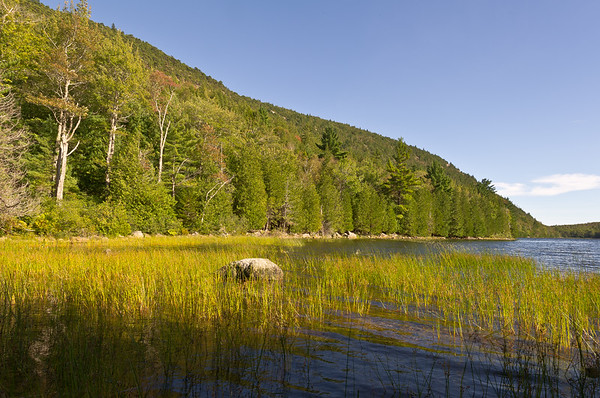 Late Afternoon on Bubble Pond, Acadia National Park