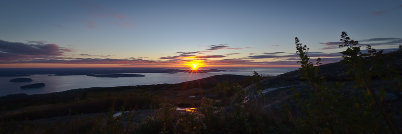 Sunset from Cadillac Mountain