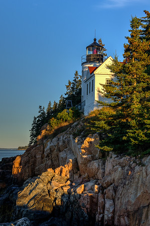 Morning Light - Bass Harbor Lighthouse