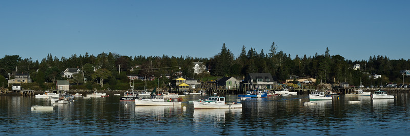 Bass Harbor Working Boats