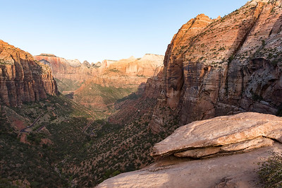 Early Morning at Canyon Overlook