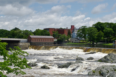 """Merrimack River Waterfall"" Lowell, Massachusetts"